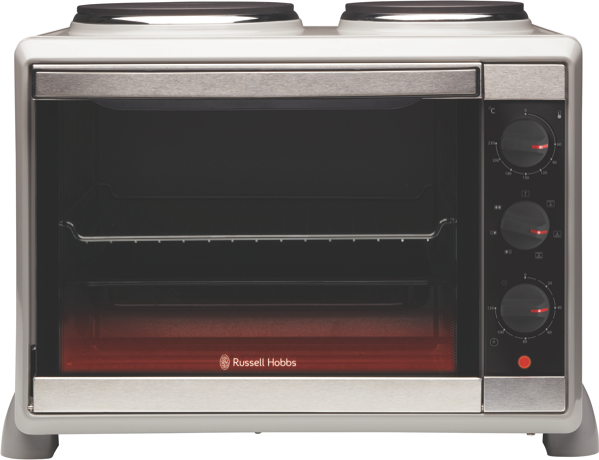 Russell Hobbs Compact Kitchen Toaster Oven RHTOV2HP