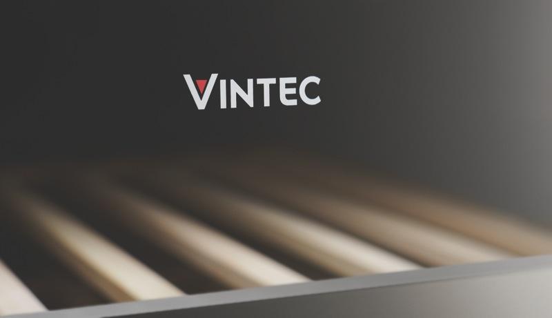Vintec 50 Bottle Wine Cellar - Stainless Steel VWS050SSBX