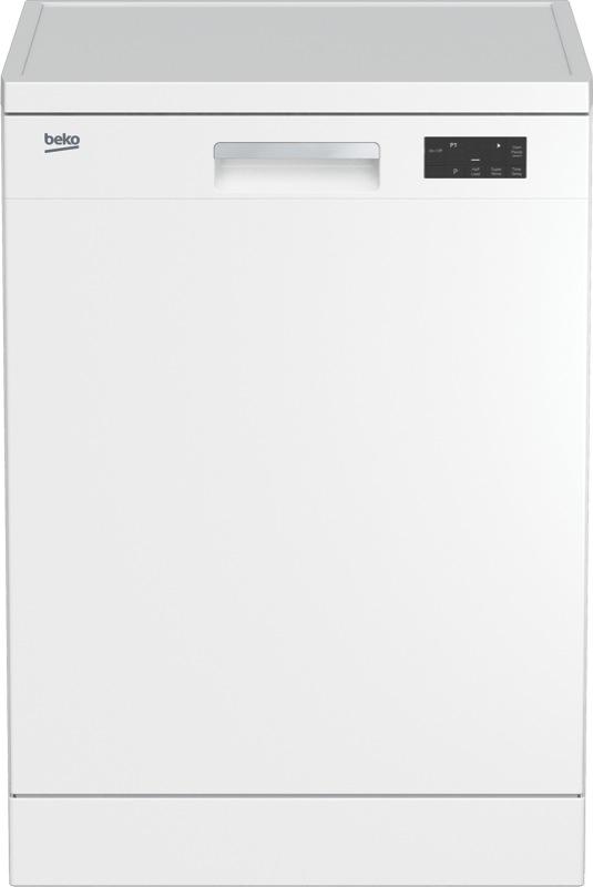 Beko 60cm Freestanding Dishwasher - White BDF1410W