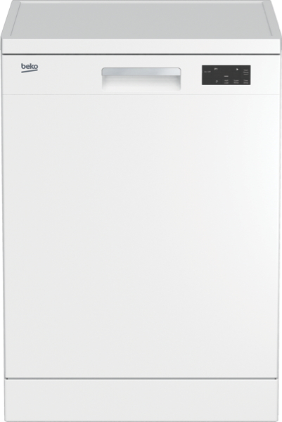 Beko 60cm Freestanding Dishwasher - White BDF1410W