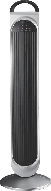 Sunbeam Loft Tower Fan - Black/Silver FA7450