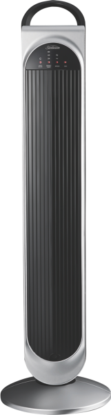 Sunbeam Loft Tower Fan - Black/Silver FA7450