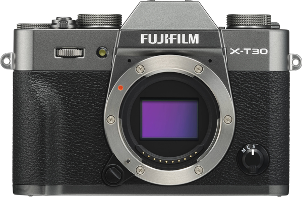 X-T30 MIRRORLESS CAMERA (BODY ONLY) - CHARCOAL SILVER