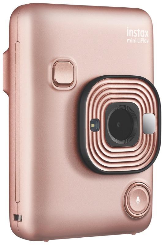 Fujifilm Liplay Instant Camera - Blush Gold 87097