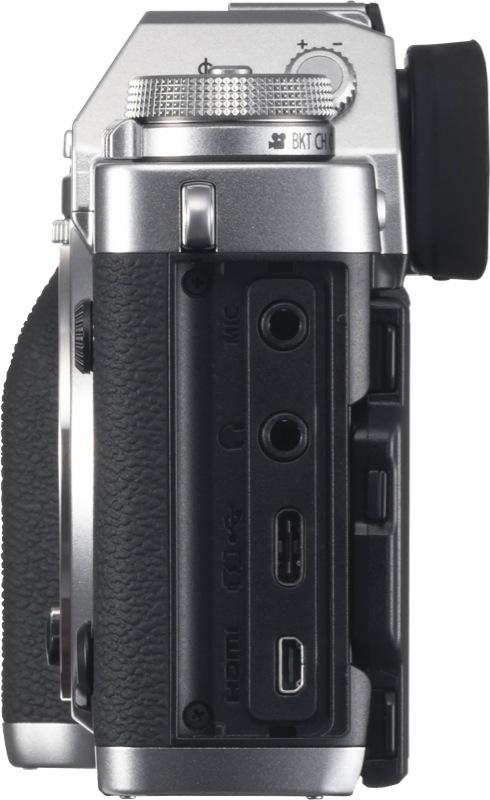 Fujifilm X-T3 Mirrorless Camera (Body Only) - Silver 74349