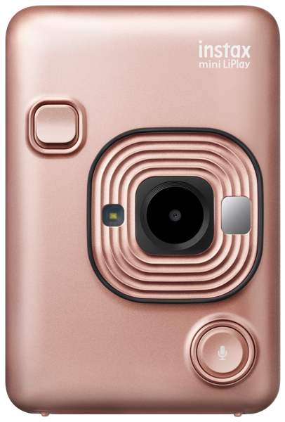 LIPLAY INSTANT CAMERA - BLUSH GOLD