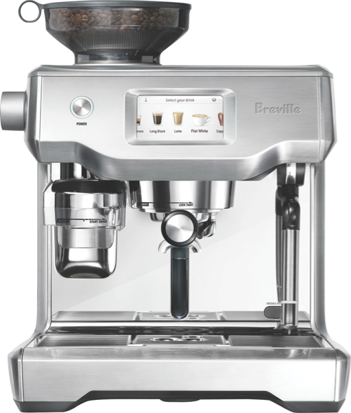 THE ORACLE TOUCH FULLY AUTOMATIC ESPRESSO COFFEE MACHINE - BRUSHED STAINLESS STEEL