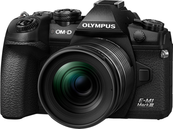 OM-D E-M1 MARK III MIRRORLESS CAMERA + 12-40MM LENS KIT