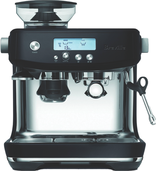 Breville Barista Pro Pump Espresso Coffee Machine - Black BES878BTR