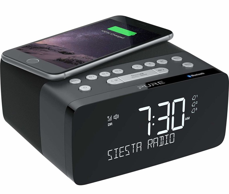 Pure Alarm Clock Radio with Bluetooth Siesta Charge