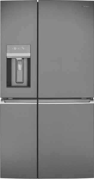 680L QUAD DOOR FRIDGE - DARK STAINLESS STEEL