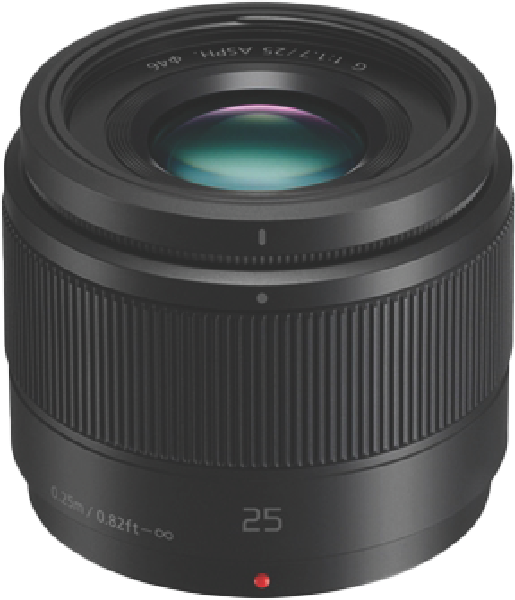 Panasonic Lumix G 25mm F/1.7 II ASPH Camera Lens HH025EK