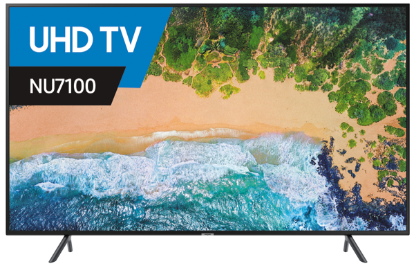 Samsung 55″ 4K Ultra HD Smart LED LCD TV UA55NU7100WXXY