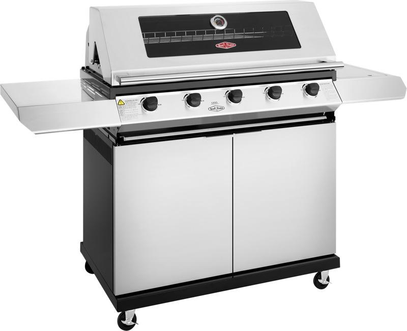 Beefeater 1200 Series 170cm 5-Burner Freestanding BBQ - Stainless Steel BMG1251SB