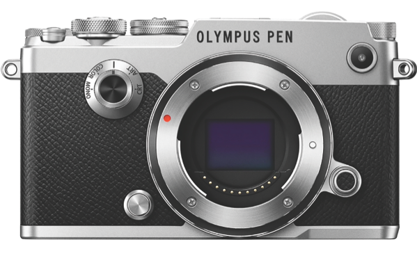 Olympus PEN-F Mirrorless Camera (Body Only) - Silver PEN-F Body only (Silver)