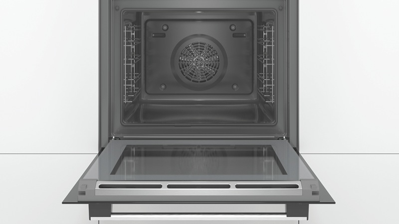 Bosch 60cm Built-In Pyrolytic Oven - Black HBA574BS0A