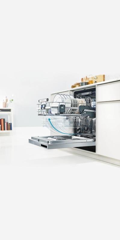 Electrolux 60cm Built Under ComfortLift™ Dishwasher - Stainless Steel ESF8735ROX