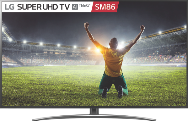 75″ SUPER UHD SMART LED LCD TV