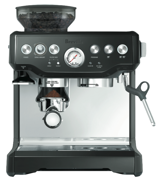 Breville Barista Express Pump Espresso Coffee Machine - Black BES870BKS