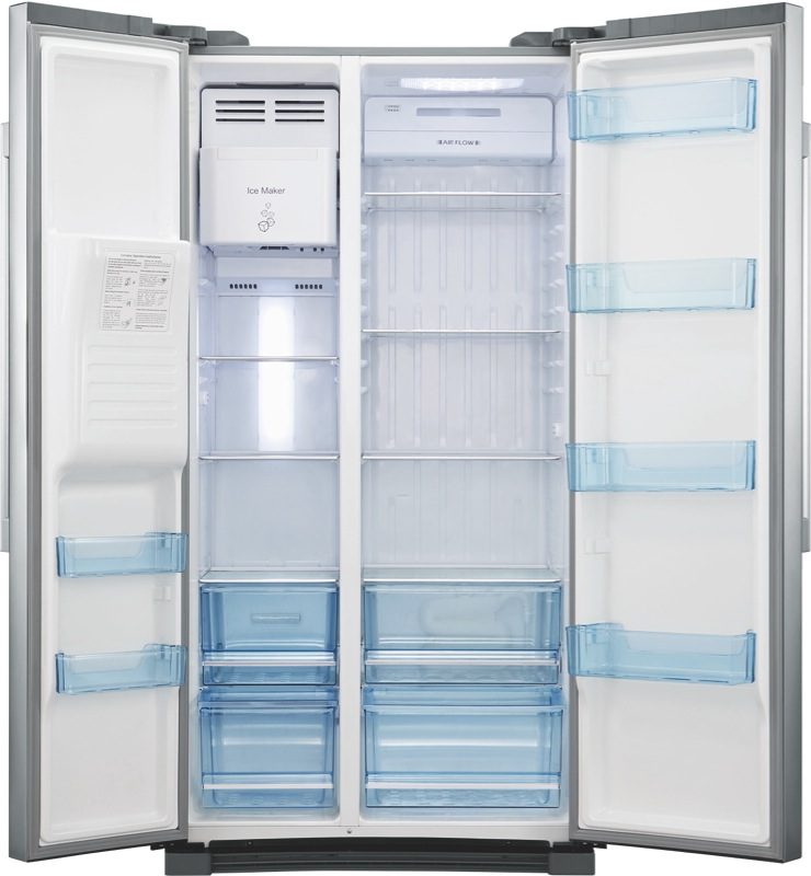 Haier 610L Side By Side Fridge HSBS610IS