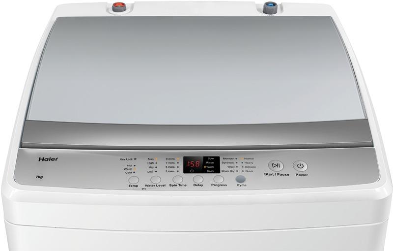 Haier 7kg Top Load Washing Machine HWT70AW1