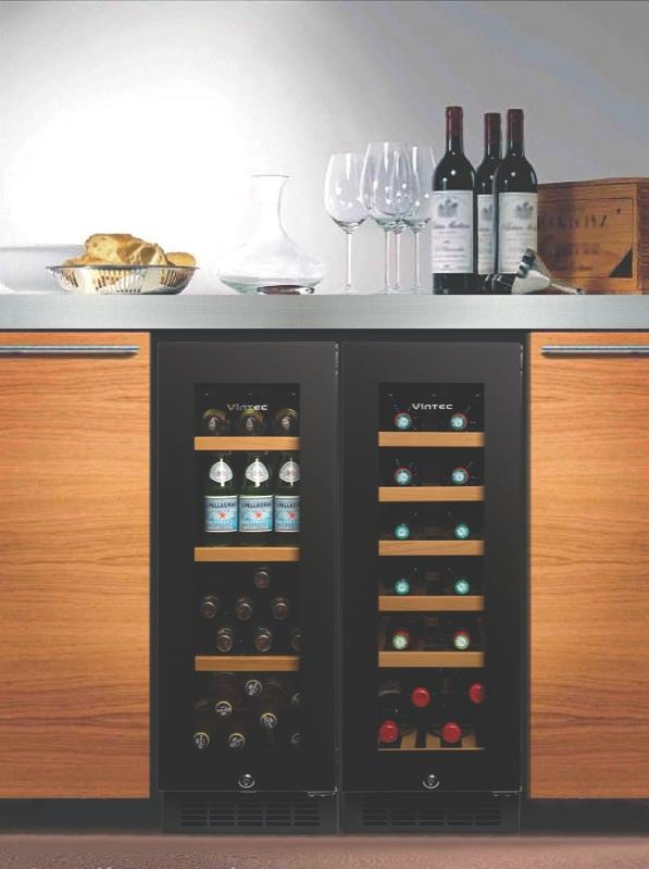 Vintec Single Zone Wine Cabinet V20SGEBK