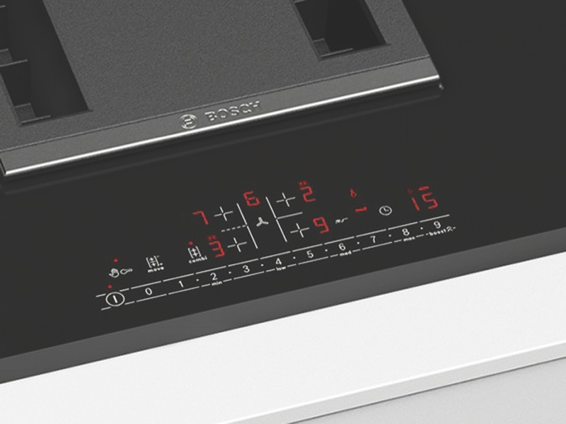 80cm Induction Cooktop with Integrated Ventilation PVS851F21E