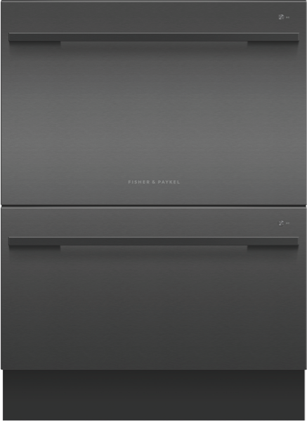 DOUBLE DISHDRAWER™ - BLACK STAINLESS STEEL
