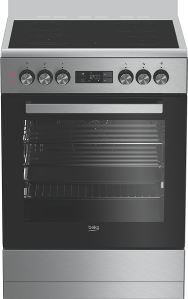 60CM FREESTANDING ELECTRIC COOKER - STAINLESS STEEL