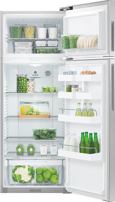 Fisher & Paykel 411L ActiveSmart™ Top Mount Fridge - Right Hinge RF411TRPX6